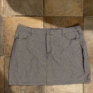 Forever 21 Plus Size Checkered Skirt